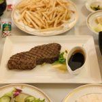 《ミラコスタ》ルームサービスでお祝い!サーロインのグリルを食べてみたよ〜≪2020年12月☆旅行記1日目≫