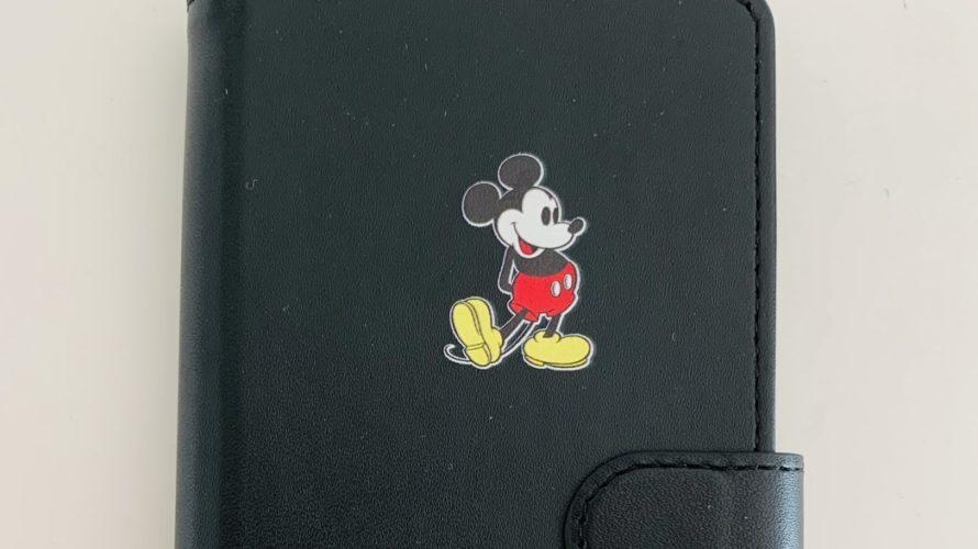 iPhone12Pro☆Disneyミッキーの手帳型スマホケースがかわいいよ〜